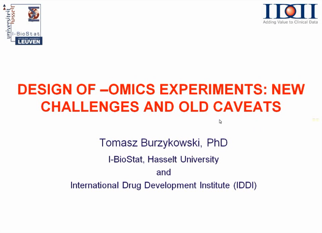 [img: Design of -OMICS Experiments]